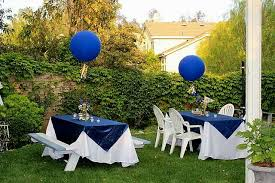 Backyard Graduation Party Ideas by Outdoor Decoration For Party Decorating Of Party
