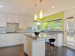 white and yellow kitchen home design ideas