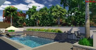 Backyard Pool Landscaping by Custom Pool Landscape Pool Design Spa Builder U2013 Pools By Design