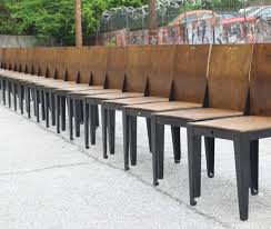 Dining Chairs Atlanta Restaurant Dining Chairs Reclaimed By Demant