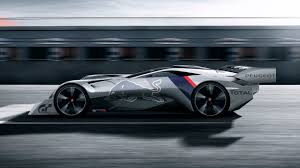 peugeot sports car peugeot debuts its newest vision gt car the l750 r hybrid