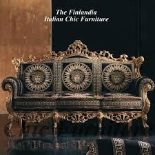 Versace Bedroom Furniture Finlandia Baroque Versace Style Fabric Sofas