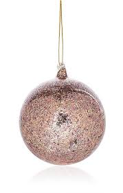 midwest of cannon falls glittered glass ornament barneys