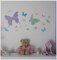 cool ideas for butterfly bedroom decoration colorful