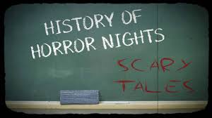 alice in wonderland halloween horror nights history of halloween horror nights scary tales youtube