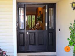 Single Patio Door Splendid Single Patio Door With Side Windows Designs Curtains