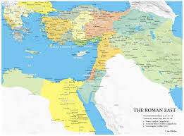 Roman Map 118 Ce Eastern Provinces Of The Roman Empire Maps Charts