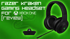 best black friday deals for xbox one headset razer kraken gaming headset for xbox one review u0026 mic test youtube