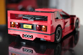 lego porsche life size lego ferrari f40 2016 hands on review by car magazine