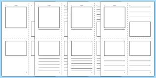 printable blank mini book template printable book review template node2004 resume template