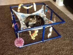 Pvc Pipe Dog Bed Cama De Gato Feita Com Canos De Pvc Faça Você Mesmo Pinterest