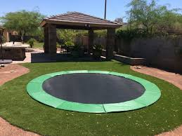 gallery in ground trampolines