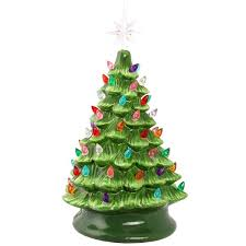 christmas tree with lights the paper store ceramic christmas tree with lights the paper store