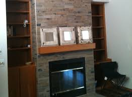 endearing home interior decoration with porcelain tile fireplace