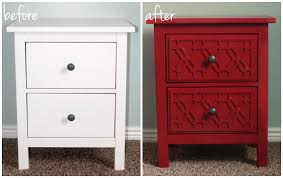 Malm Dresser Painted by Furniture U0026 Sofa Ikea Malm Six Drawer Dresser Hopen Dresser