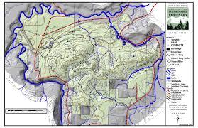 Ft Campbell Map Packforest11x17 Jpg