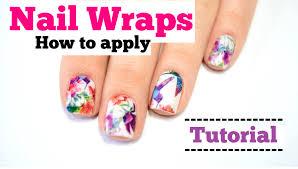anleitung nagelfolien benutzen nail wraps tutorial miss