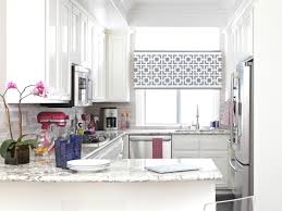 White Paint Kitchen Cabinets by Mini Bar Stainless Steel Arc Faucet Kitchen Kitchen Window Curtain
