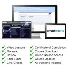 crystal reports tutorial training teachucomp inc