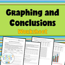 data graphing and conclusions worksheet scientific method