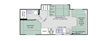 chateau floor plans 2017 chateau 24c floor plan meyer s rv superstores