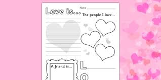 valentines worksheet worksheets worksheet sheet