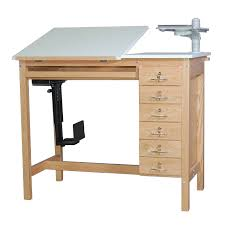Cad Drafting Table Drafting Table With Computer Smi Ct6 Oak Drafting Computer Table