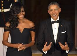 Barack Obama Halloween Costume Lady Wows Vera Wang Gown China Dinner