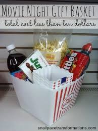 Movie Night Gift Basket Ideas Dollar Store Gift Baskets For Everyone On Your List At Muse Ranch