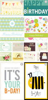 25 unique printable happy birthday cards ideas on