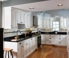 Kitchen White Cabinets Black Appliances White Kitchen Black Appliances Kitchens Pinterest Kitchen