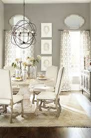 Dining Room Chandelier Size Dining Room Classic Dining Room Decoration With White