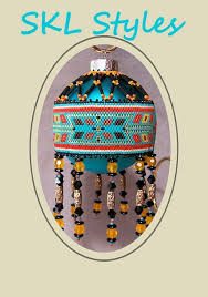 145 best beaded ornaments images on beaded