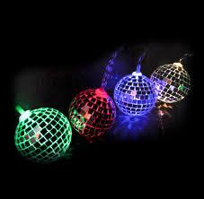 mini disco ball light disco balls string lights 10 mini light up glass mirror balls