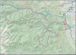 Squaw Trail Map Squaw Pass Coloradobikemaps
