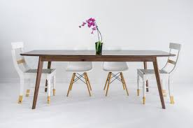 walnut dining table midcentury modern dining table danish