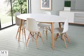 Charles Eames White Chair Design Ideas White Eames Chair White Table With Wood Legs Home Design
