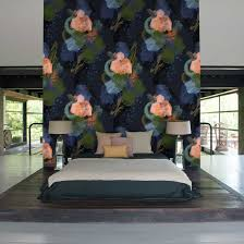 Ek Home Interiors Design Helsinki by English Rose Wallpaper By Reeta Ek Feathr