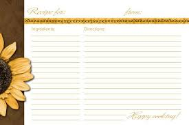 15 free recipe cards printables templates and binder