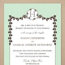 sample fall wedding invitations lake side corrals