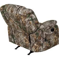 relaxzen rocker recliner with massage heat and dual usb tan 60