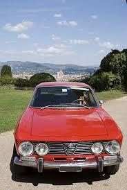 alfa romeo giulia hire chianti classic car tuscany italy