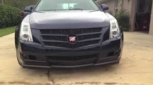 2011 cadillac cts grille cadillac cts plasti dip navy and black