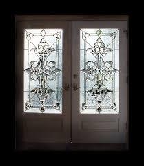 bevelled glass door hand made leaded beveled glass doors by alemanda artworks