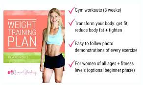 lose weight programs gym summer challenge weight training plans weight lifting plan gym