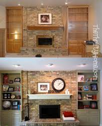 Built In Bookshelves Fireplace by Best 20 Painted Built Ins Ideas On Pinterest Built In Shelves