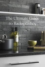 types of backsplash for kitchen best 25 rock backsplash ideas on backsplash