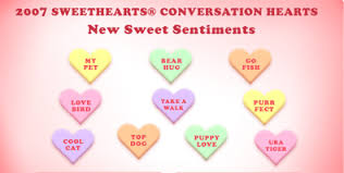 heart candy sayings best and worst candy heart sayings of all time family