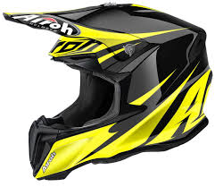 airoh motocross helmets casca airoh twist freedom yellow gloss