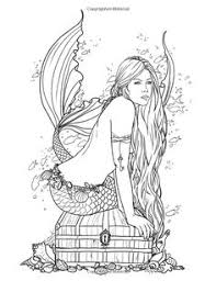 fairy mermaid coloring pages angel coloring pages for adults best coloring books